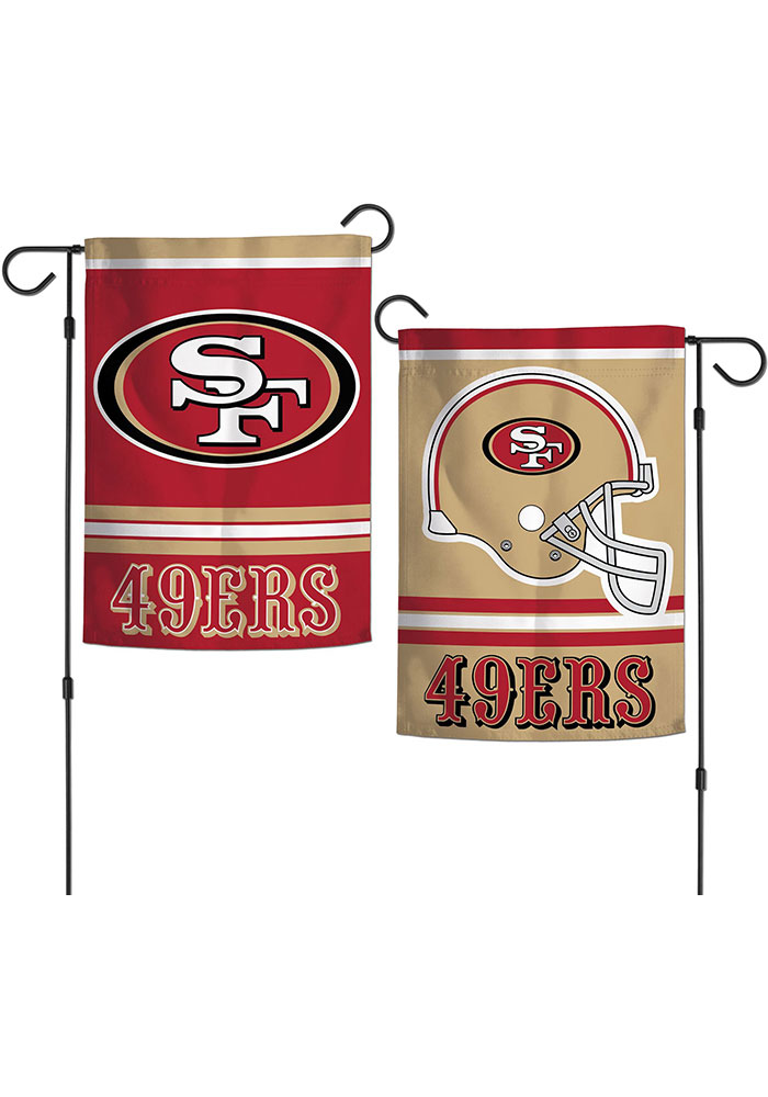 San Francisco 49ers 2 Sided Team Logo Garden Flag