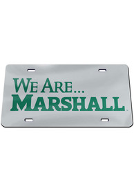 Marshall Thundering Herd We Are Car Accessory License Plate
