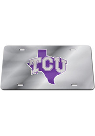 TCU Horned Frogs State Car Accessory License Plate