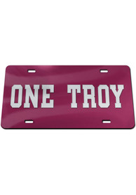 Troy Trojans One Car Accessory License Plate