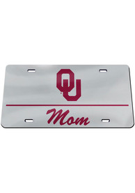 Oklahoma Sooners Mom Car Accessory License Plate