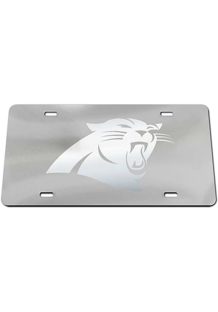 Carolina Panthers Logo Car Accessory License Plate - Image 1