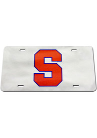 Syracuse Orange Logo Car Accessory License Plate