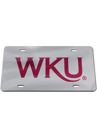 Western Kentucky Hilltoppers Logo Car Accessory License Plate