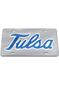 Tulsa Golden Hurricanes Logo Car Accessory License Plate
