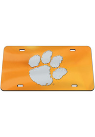 Clemson Tigers Logo Car Accessory License Plate