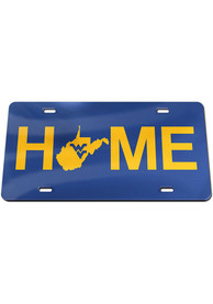 West Virginia Mountaineers Home Car Accessory License Plate