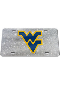 West Virginia Mountaineers Glitter Car Accessory License Plate