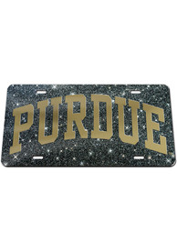 Purdue Boilermakers Glitter Car Accessory License Plate