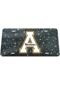 Appalachian State Mountaineers Glitter Car Accessory License Plate