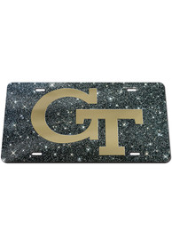 GA Tech Yellow Jackets Glitter Car Accessory License Plate