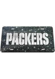 Green Bay Packers Glitter Car Accessory License Plate