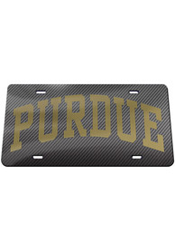 Purdue Boilermakers Carbon Car Accessory License Plate