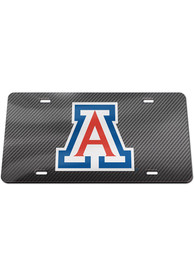Arizona Wildcats Carbon Car Accessory License Plate