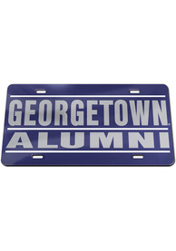 Georgetown Hoyas Alumni Car Accessory License Plate