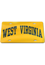 West Virginia Mountaineers Inlaid Car Accessory License Plate
