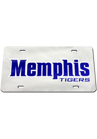 Memphis Tigers Inlaid Car Accessory License Plate