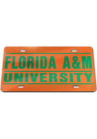 Florida A&M Rattlers Inlaid Car Accessory License Plate