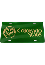 Colorado State Rams Inlaid Car Accessory License Plate