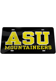 Appalachian State Mountaineers Inlaid Car Accessory License Plate