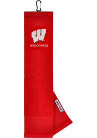 Wisconsin Badgers Embroidered Microfiber Golf Towel