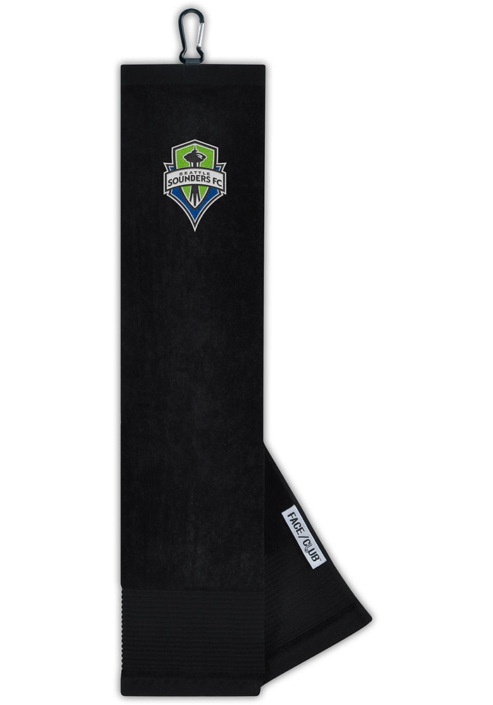 Seattle Sounders FC Embroidered Microfiber Golf Towel - Image 1