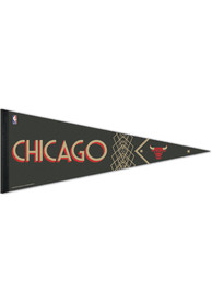 Chicago Bulls City Edition 12x30 Premium Pennant