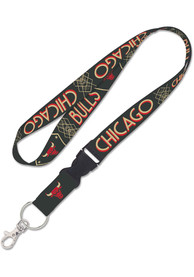 Chicago Bulls City Edition 1 inch Buckle Lanyard