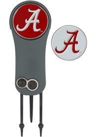Alabama Crimson Tide Ball Marker Switchblade Divot Tool