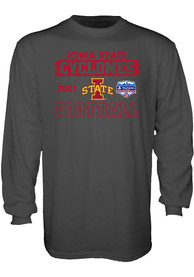 Iowa State Cyclones 2020 Fiesta Bowl Bound T Shirt - Grey
