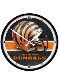 Cincinnati Bengals 12.75in Round Wall Clock