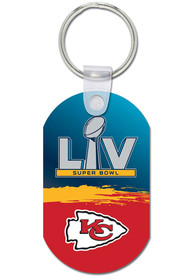 Kansas City Chiefs Super Bowl LV Bound Aluminum Keychain