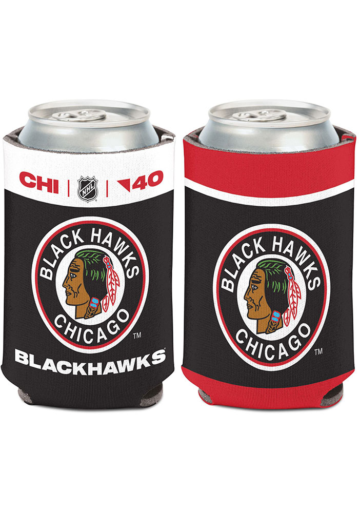 Chicago Blackhawks Reverse Retro Logo Coolie