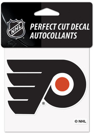 Philadelphia Flyers Reverse Retro Logo Auto Decal - Blue