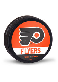 Philadelphia Flyers Reverse Retro Logo Hockey Puck