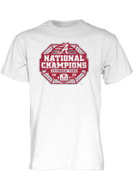Alabama Crimson Tide 2020 Football National Champions T Shirt - White