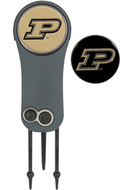 Purdue Boilermakers Ball Marker Switchblade Divot Tool