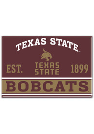 Texas State Bobcats 2.5x3.5 Magnet