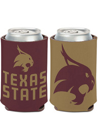 Texas State Bobcats 2 Sided Coolie