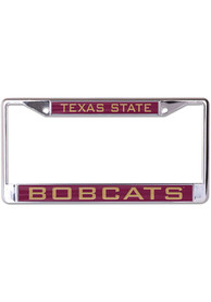 Texas State Bobcats Inlaid License Frame