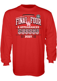 Houston Cougars 2021 Final Four T Shirt - Red