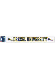 Drexel Dragons 2 x 17 Inch Auto Strip - Blue