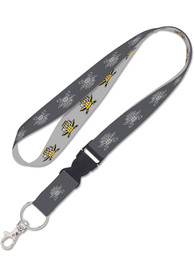 Northern Kentucky Norse Charcoal Lanyard