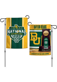 Baylor Bears 2021 National Champions 2 Sided Garden Flag