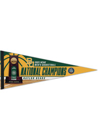 Baylor Bears 2021 National Champions 12X30 Pennant