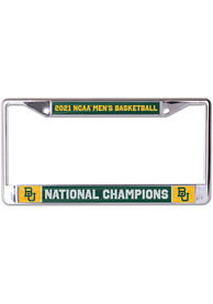 Baylor Bears 2021 National Champions License Frame