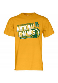 Baylor Bears 2021 National Champions T Shirt - Gold