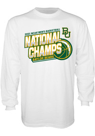 Baylor Bears 2021 National Champions T Shirt - White