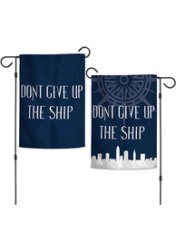 Cleveland Dont Give Up The Ship Garden Flag