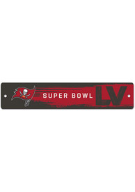 Tampa Bay Buccaneers SB LV Bound Sign